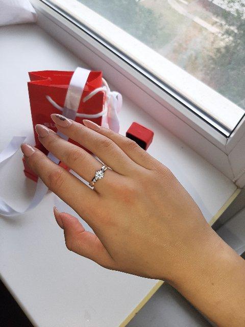 Золотое кольцо с фанатом