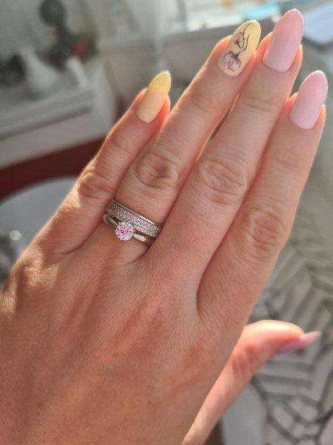 Потрясающее двойное кольцо