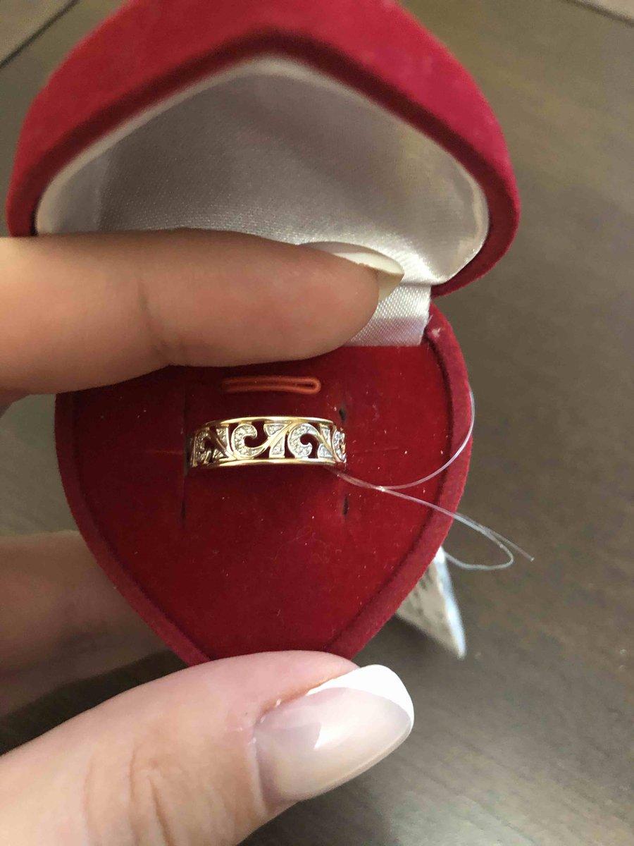 Кольцо с брилиантами ) отличное