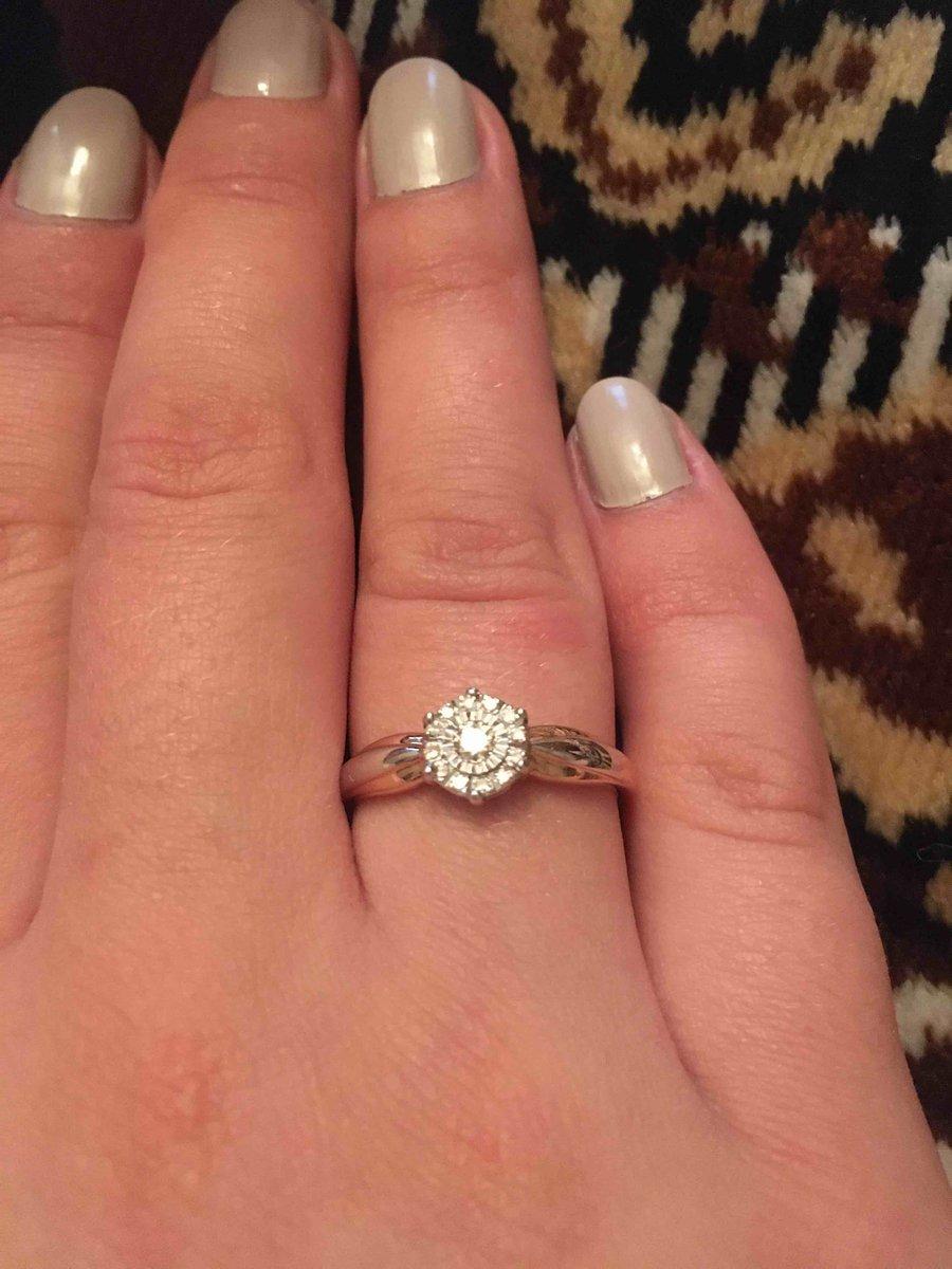 Выбырал кольцо на помовлку