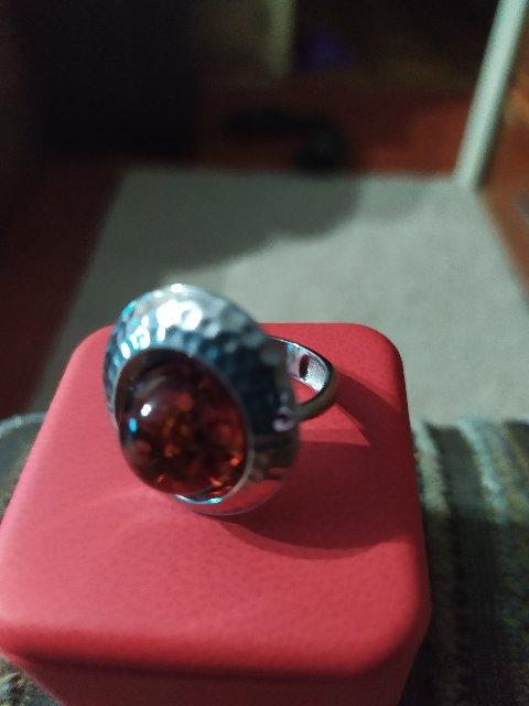 Серебреное кольцо.