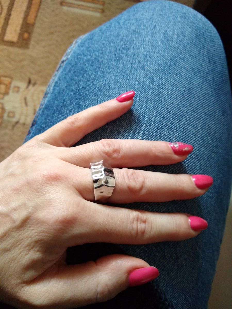 Стало моим любимым кольцом.