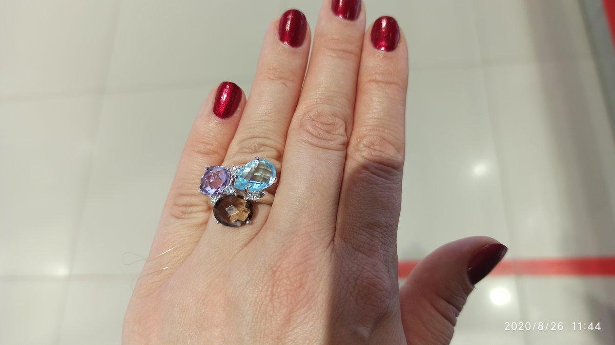Кольцо для ярких дам! ))