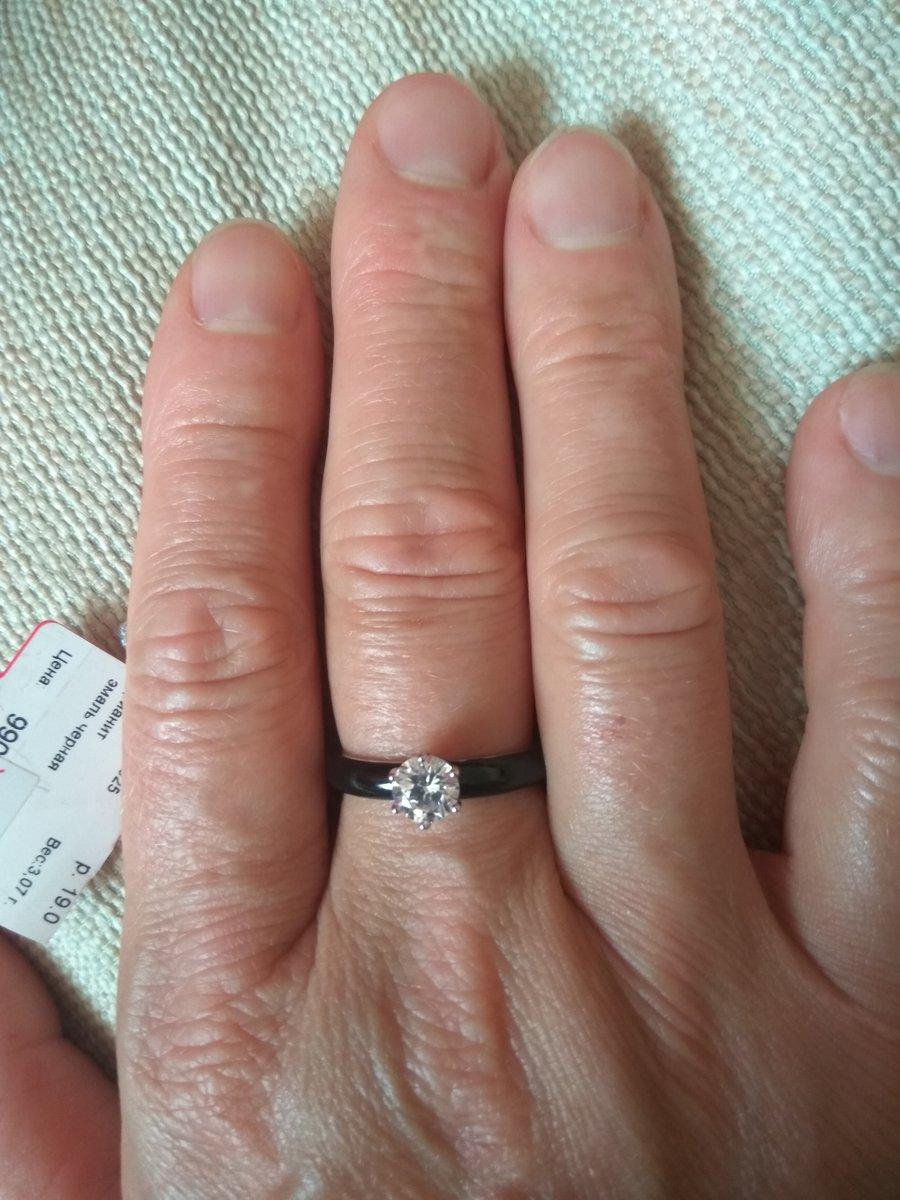 Кольцо эмаль
