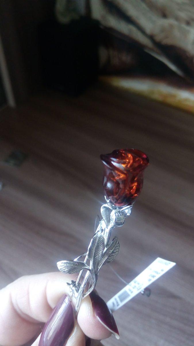 Роза в янтаре