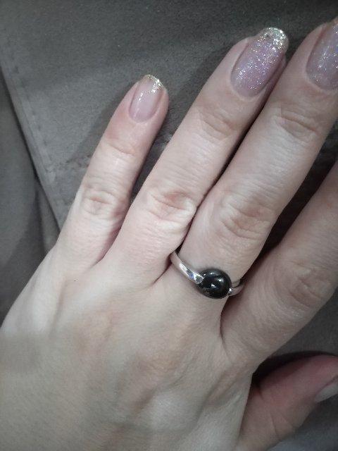 Кольцо с керамикой, первый опыт.