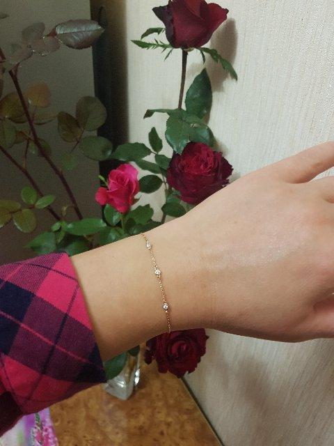 Красивый, нежный браслет.
