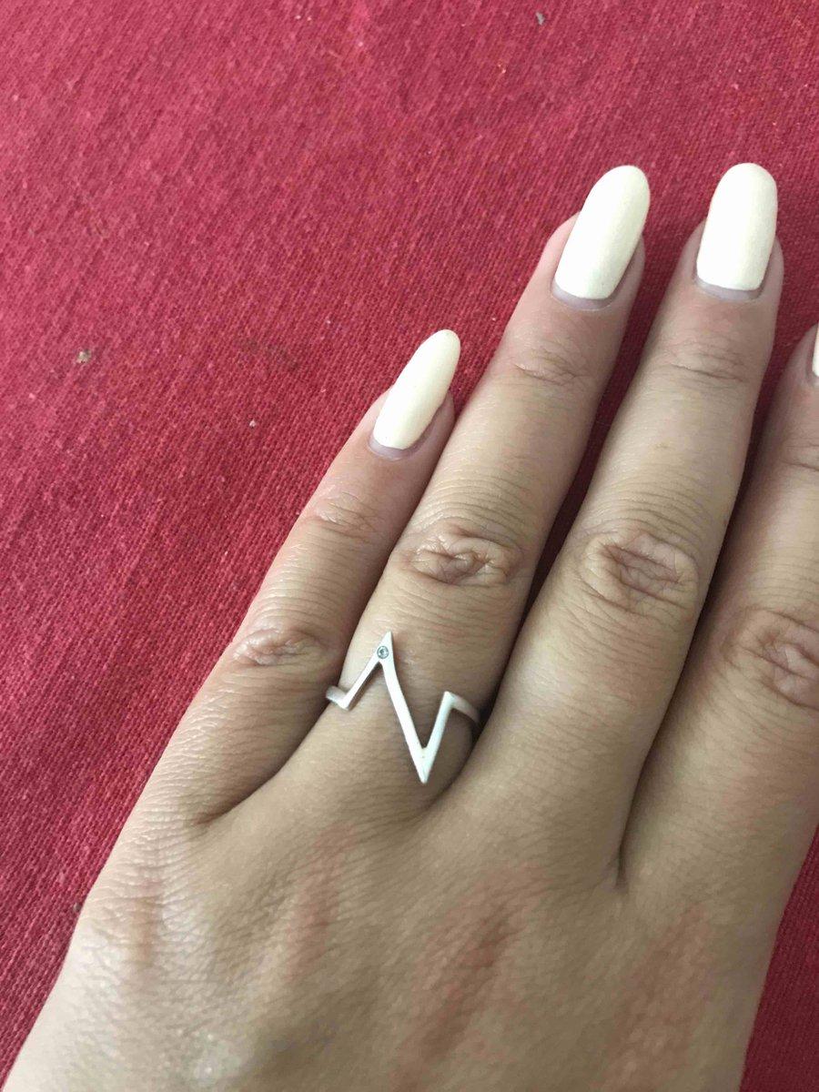 Отзыв на кольцо серебряное с фианитом (ношу примерно полтора года)