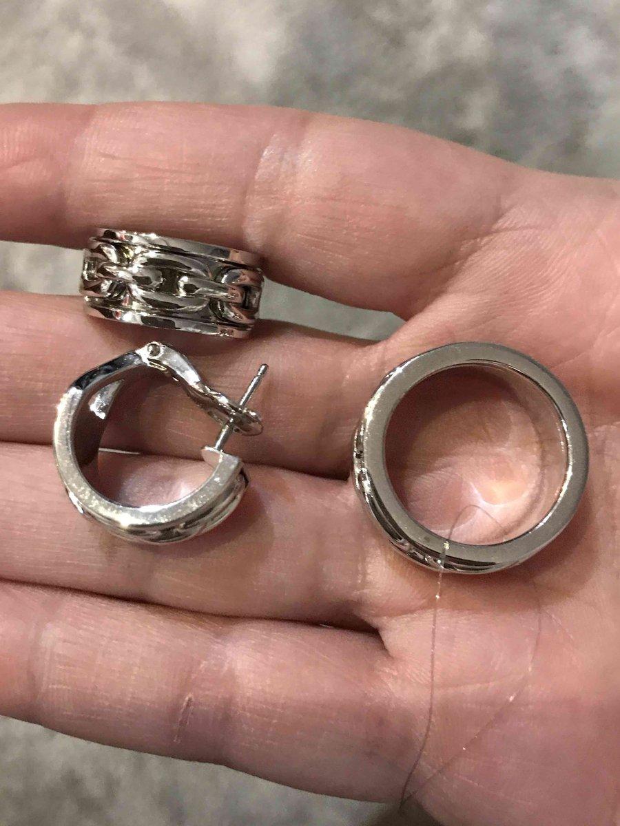 Кольцо с цепью
