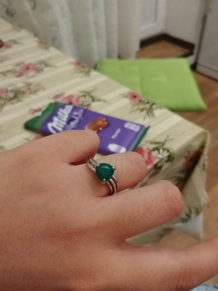 Агат кольцо