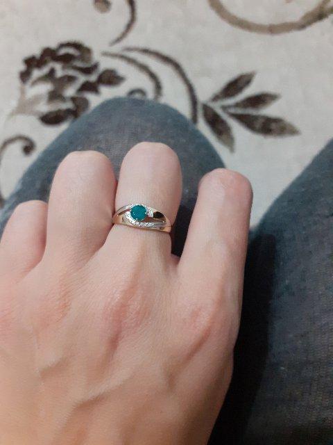 Красивое кольцо с агатом!!!