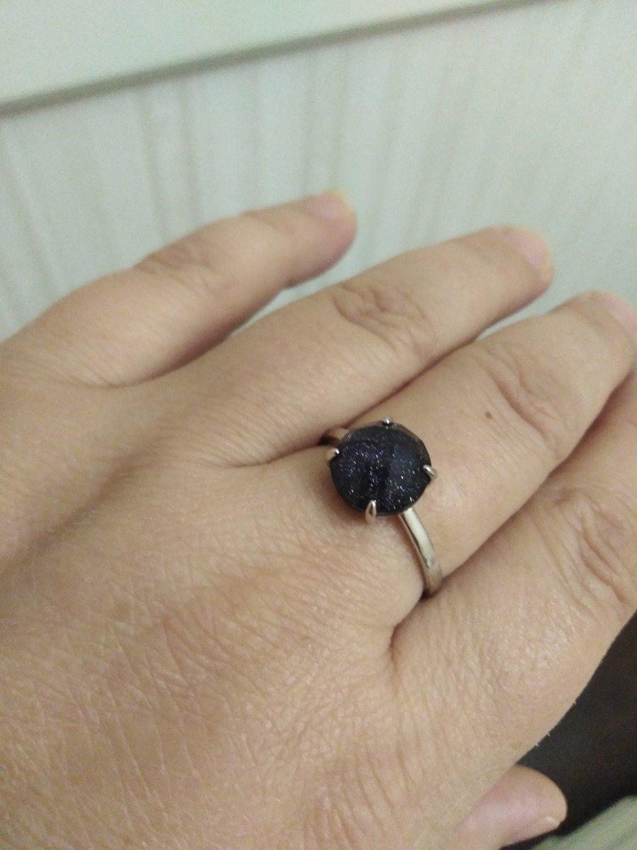 Кольцо, ночное звездно небо