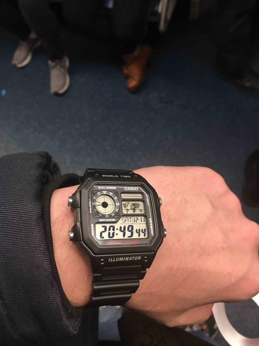 Покупал часы casio
