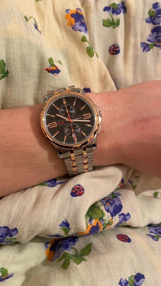 Подарок часы