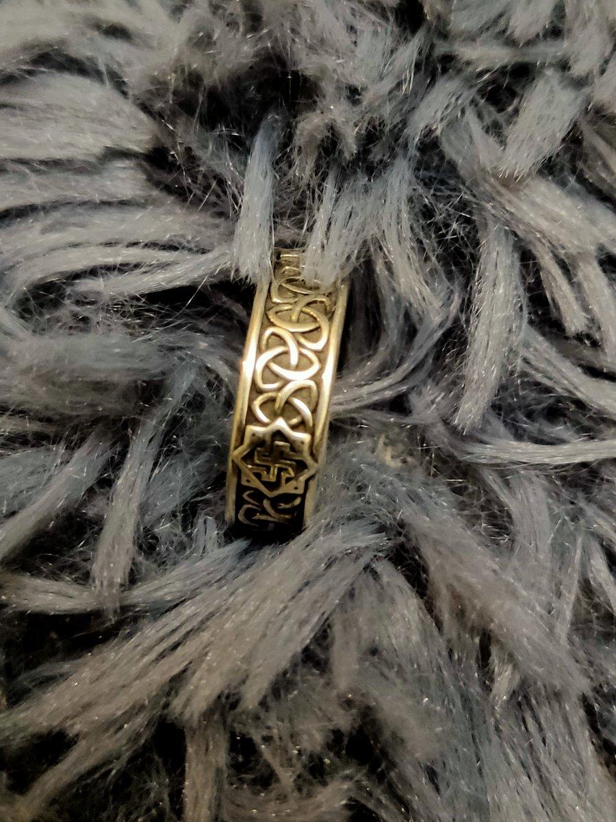 Валькирия кольцо оберег