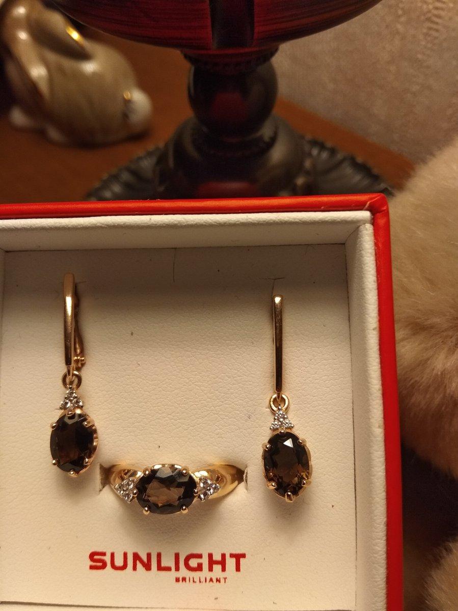 Кольцо с камешками