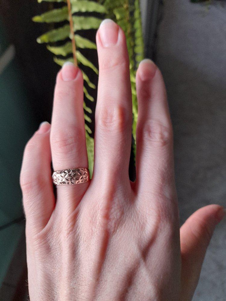 Кольцо супер, на вид!