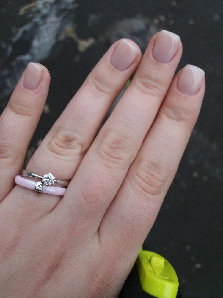 Очень нежное кольцо