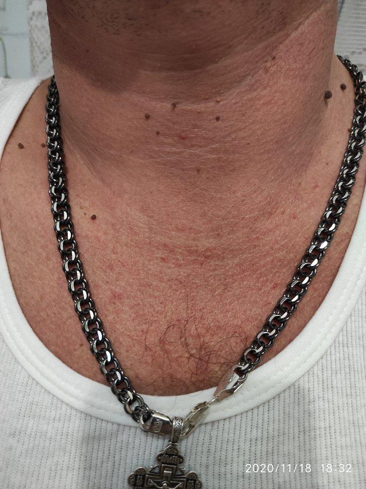 Мужская цепь 60 см