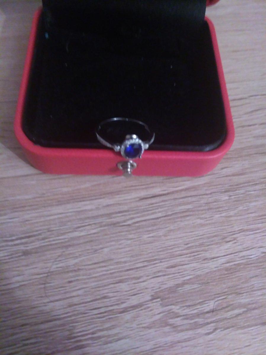 Самое замечательное кольцо с сапфиром
