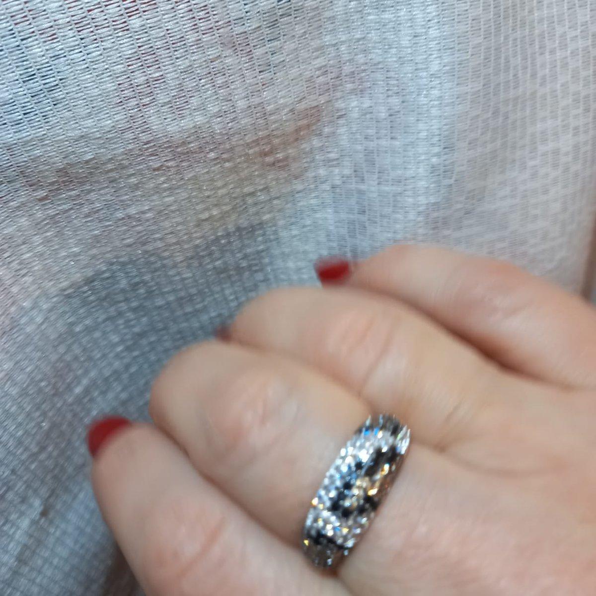 Купила кольцо и серьги