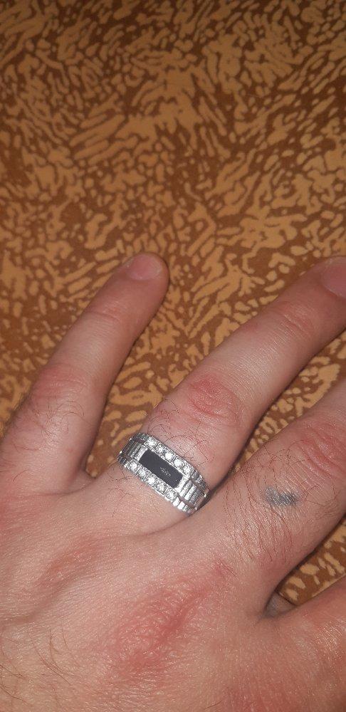 Перстень серебрянный