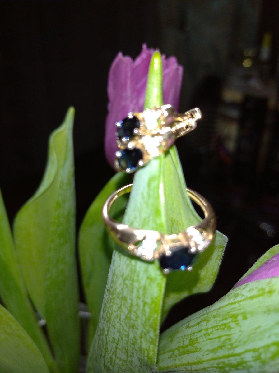 Шикарные сапфиры с бриллиантами
