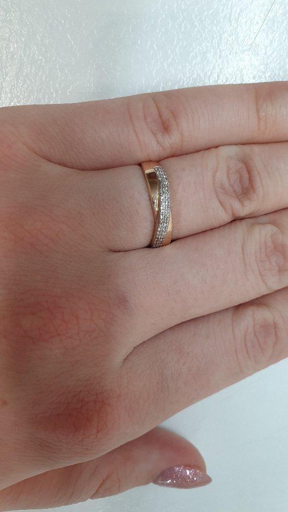 Кольцо очень понравилось! это была любовь с первого взгляда ❤❤❤