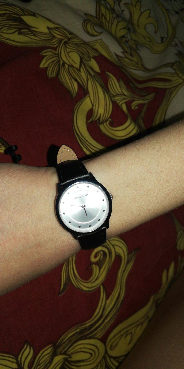 Часы женские чёрные