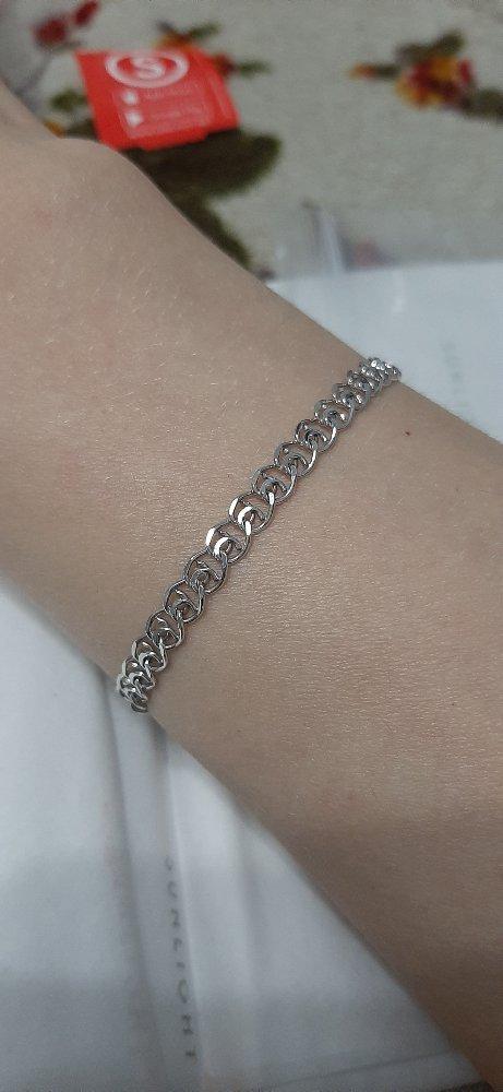 Серебрянный брослет
