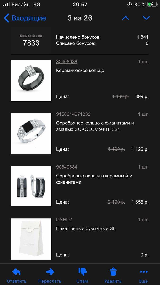 Перстень типо по акции в подарок