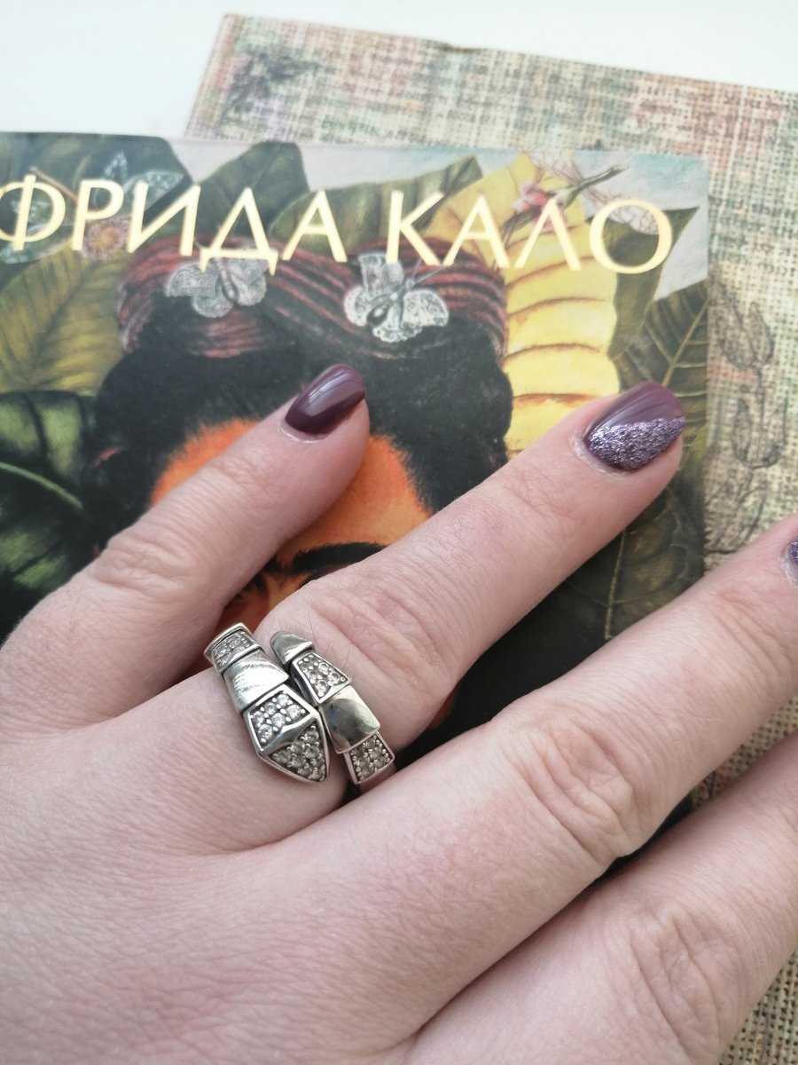Стильное кольцо на любой размер