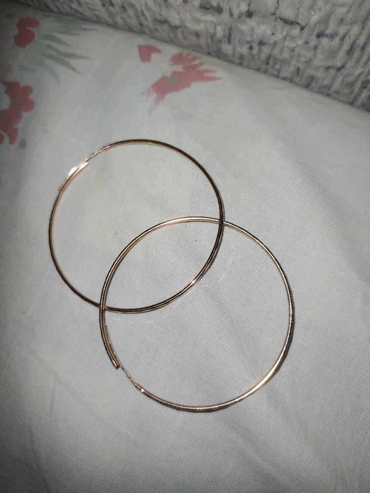 Золотые кольца, серьги