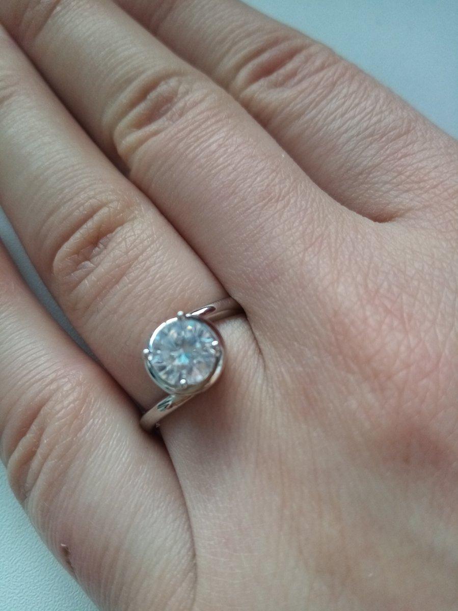 Такая нежная колечко.. я купила сразу два кольца. для себя и для подруги