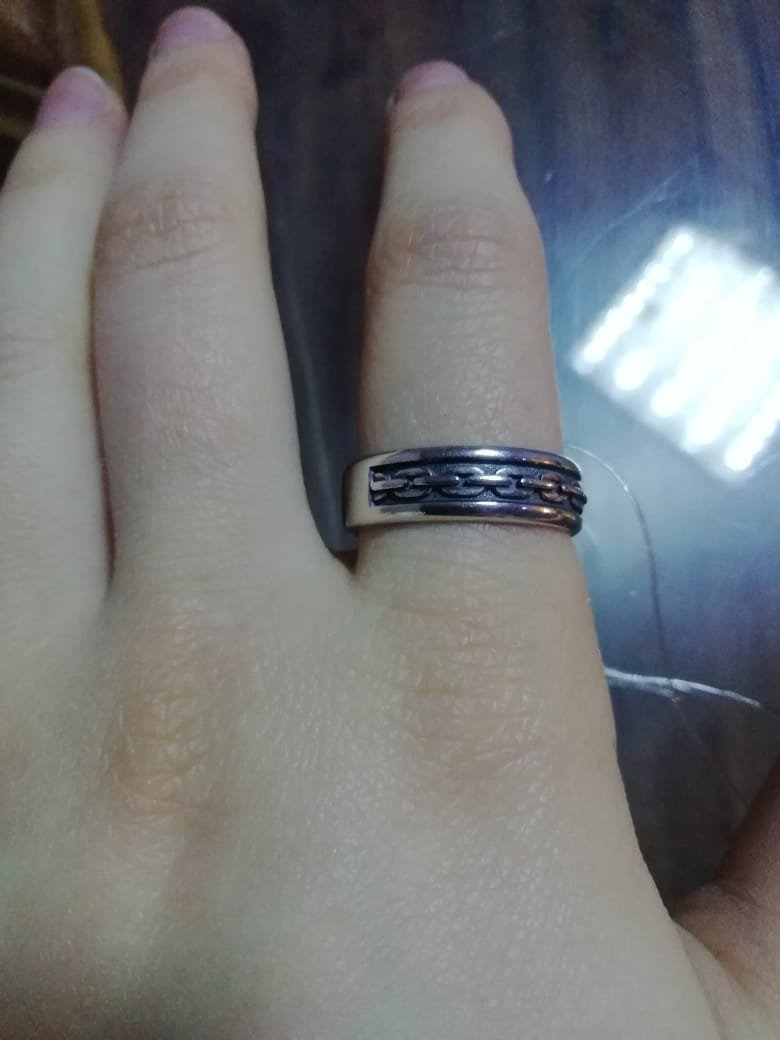 Кольцо размер 19