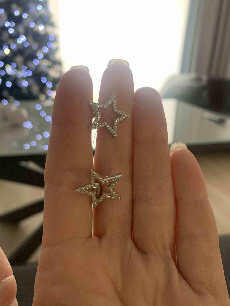 Сережки звёзды