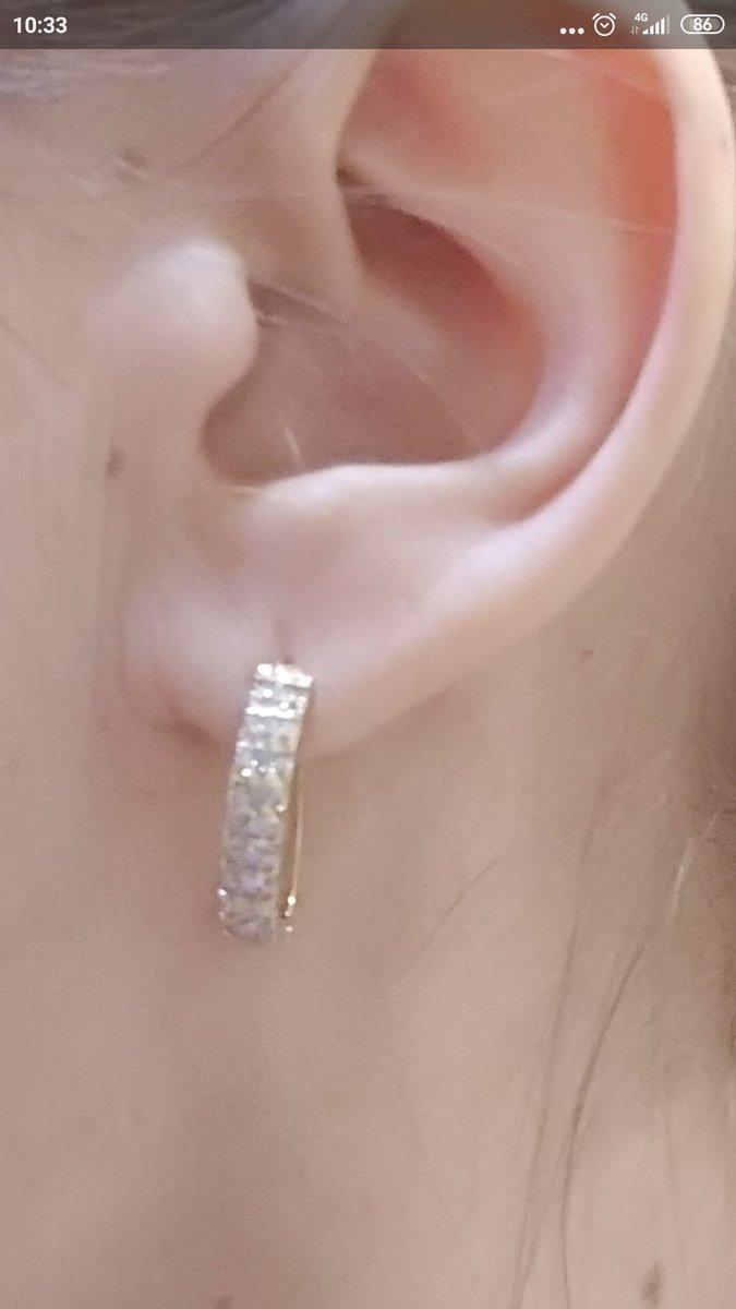 Шикарные серьги с бриллиантами,купила не раздумывая,влюбилась в них сразу..