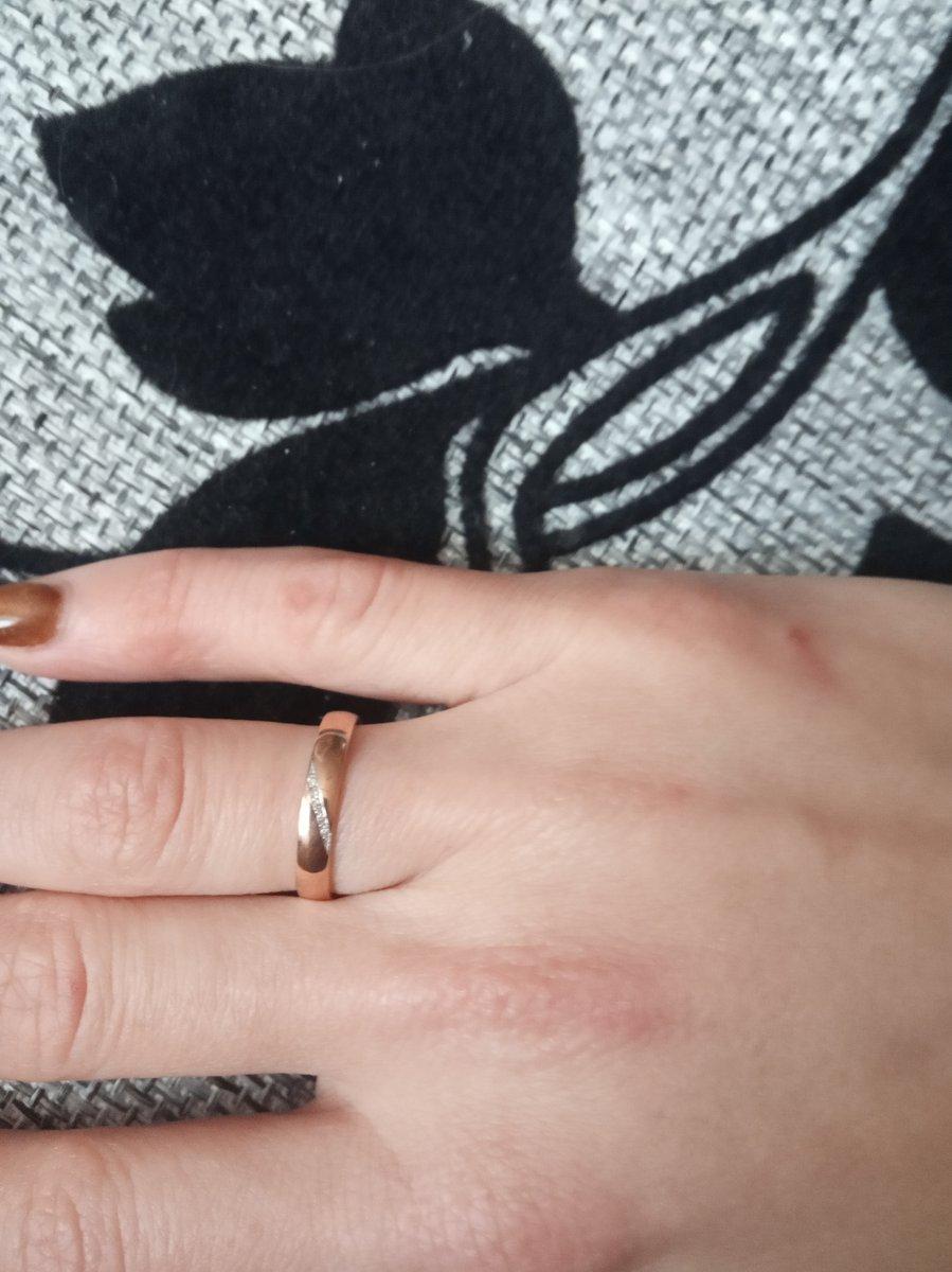 Кольцо просто восхитительное
