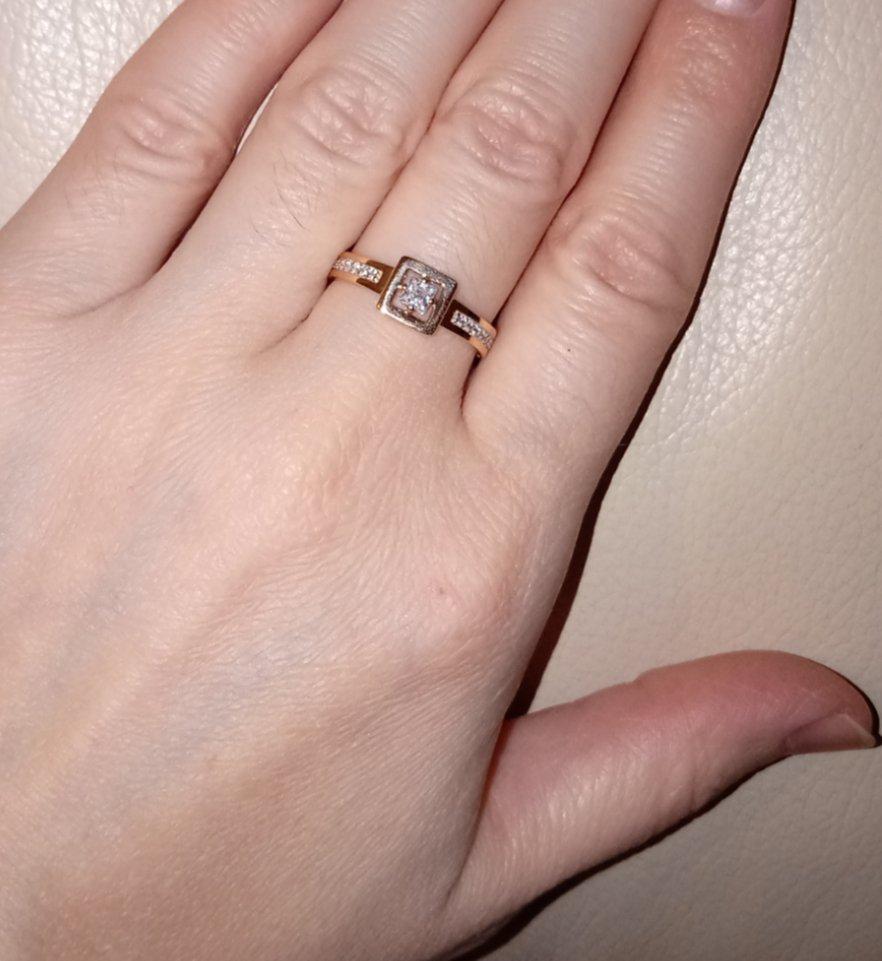 Оригинальное красивое кольцо