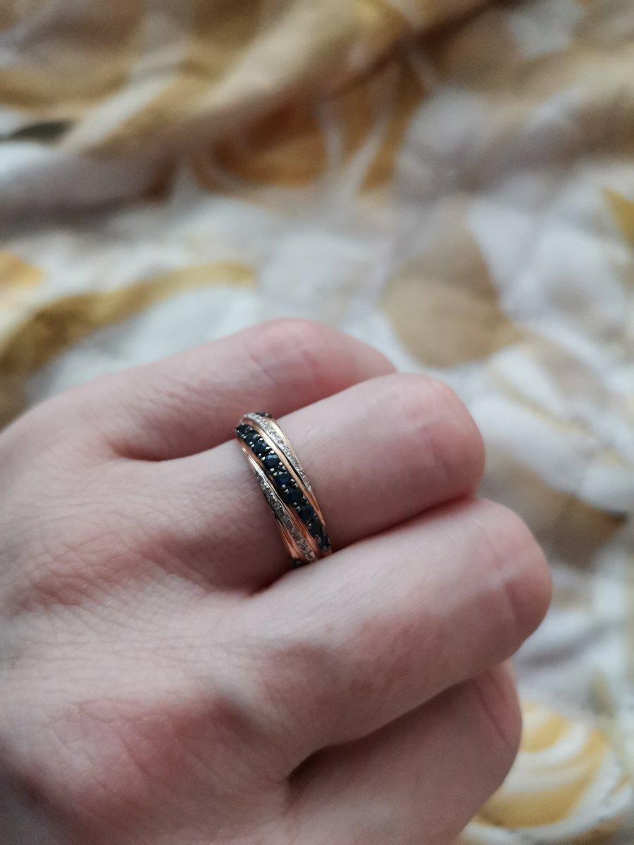 Прелестное, нежное кольцо на каждый день
