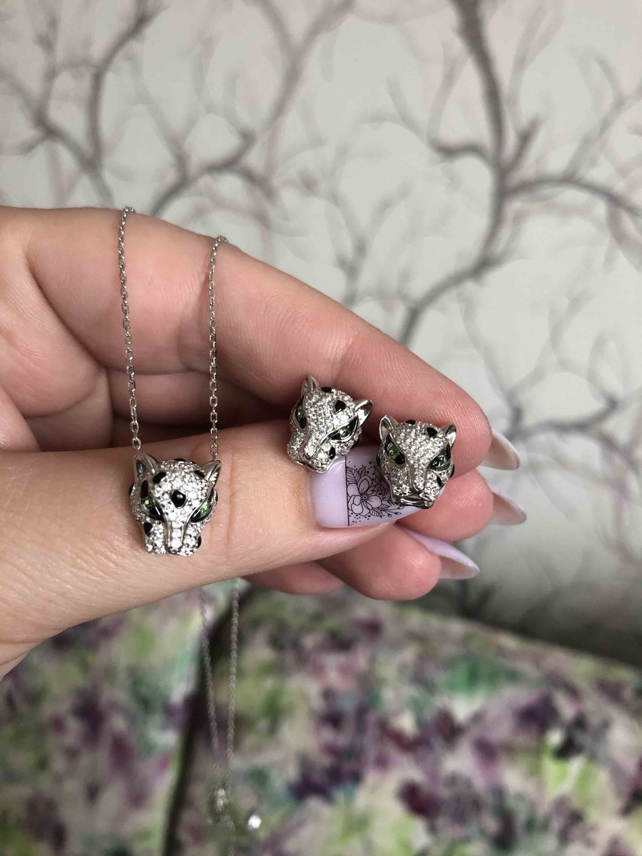 Колье леопард