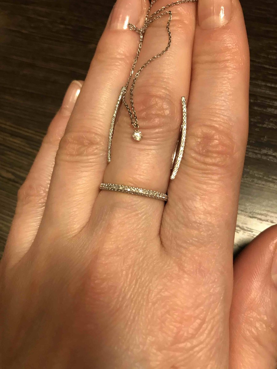 Цепочка с бриллиантом