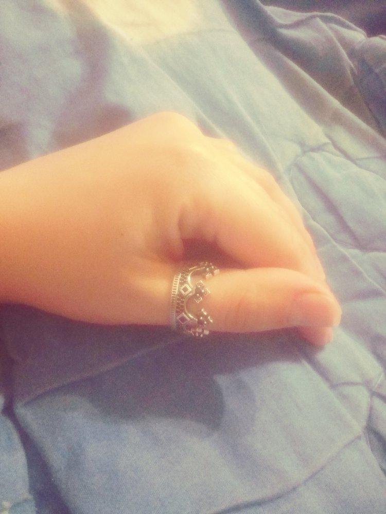 Кольцо-корона👑