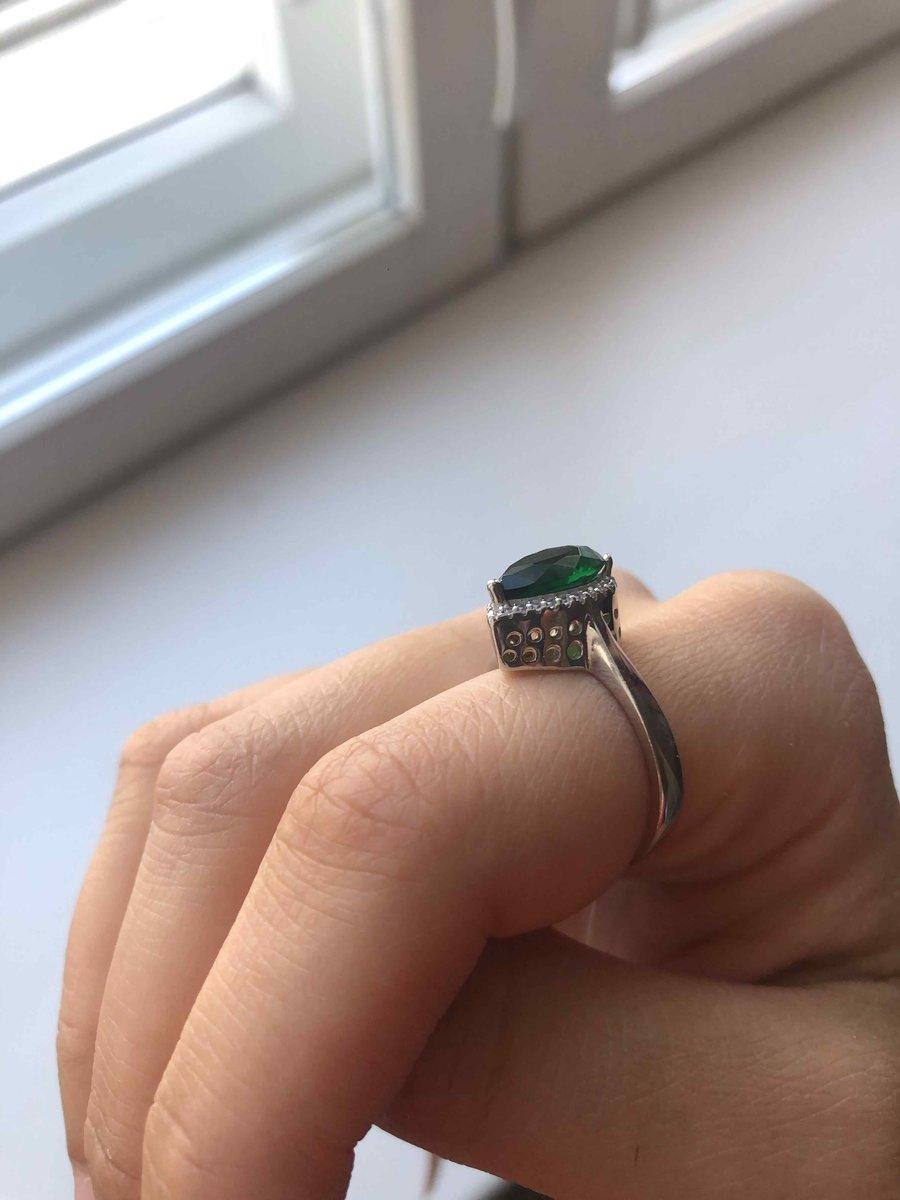 Очень похоже на хюремовское кольцо 😍💚