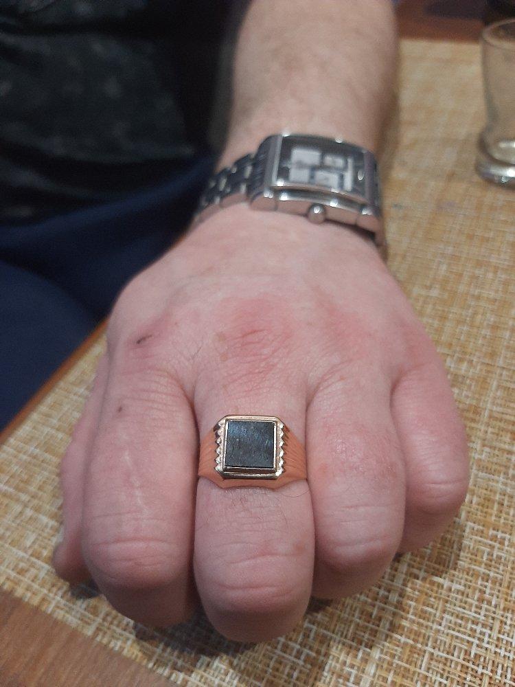 Кольцо-супер! муж доволен