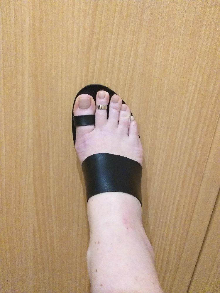 Кольцо на ногу