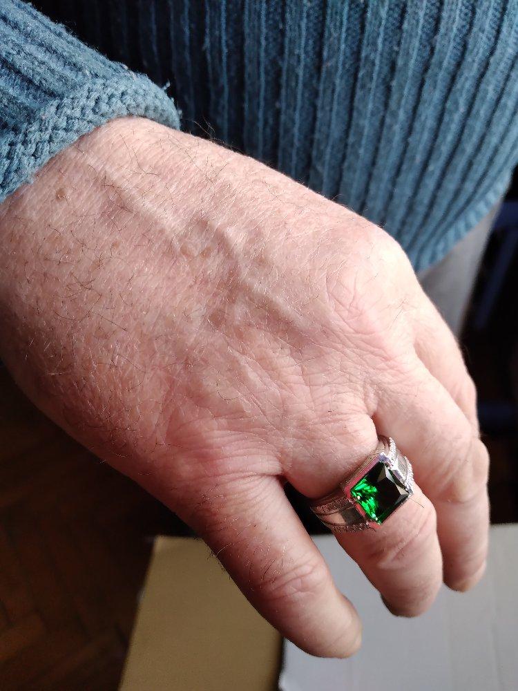 Отличное кольцо в подарок мужу