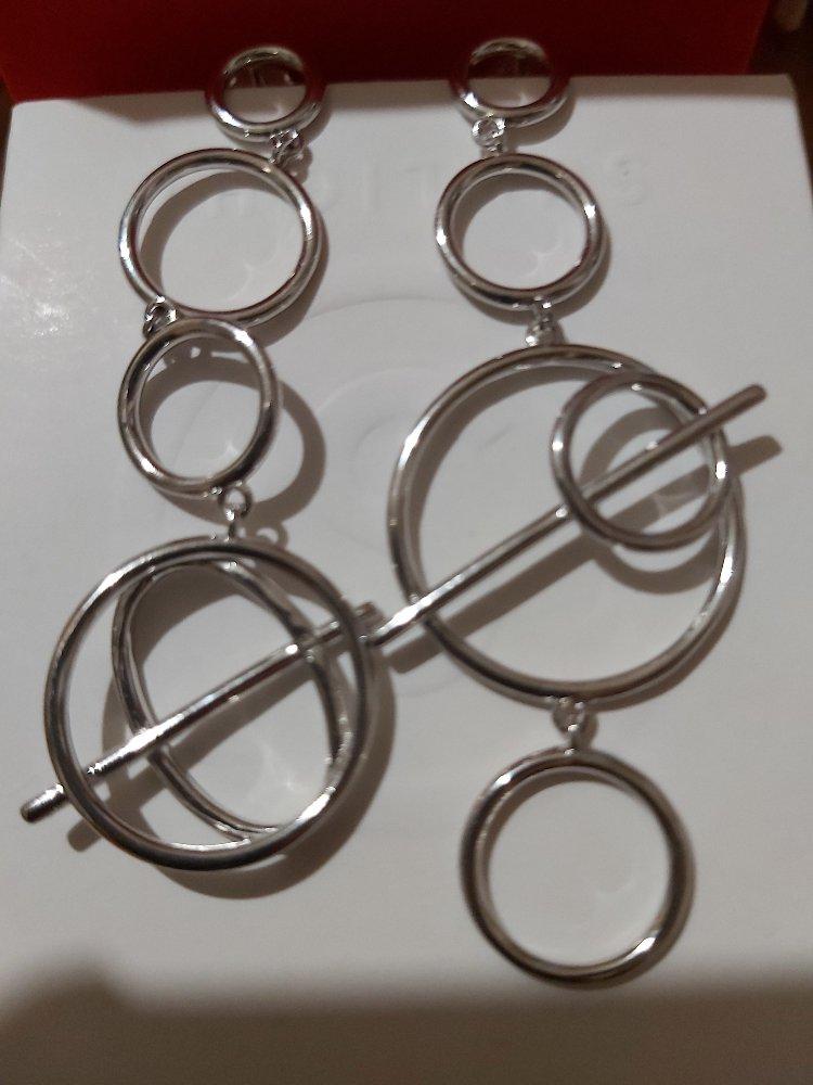 Асиметричные серьги