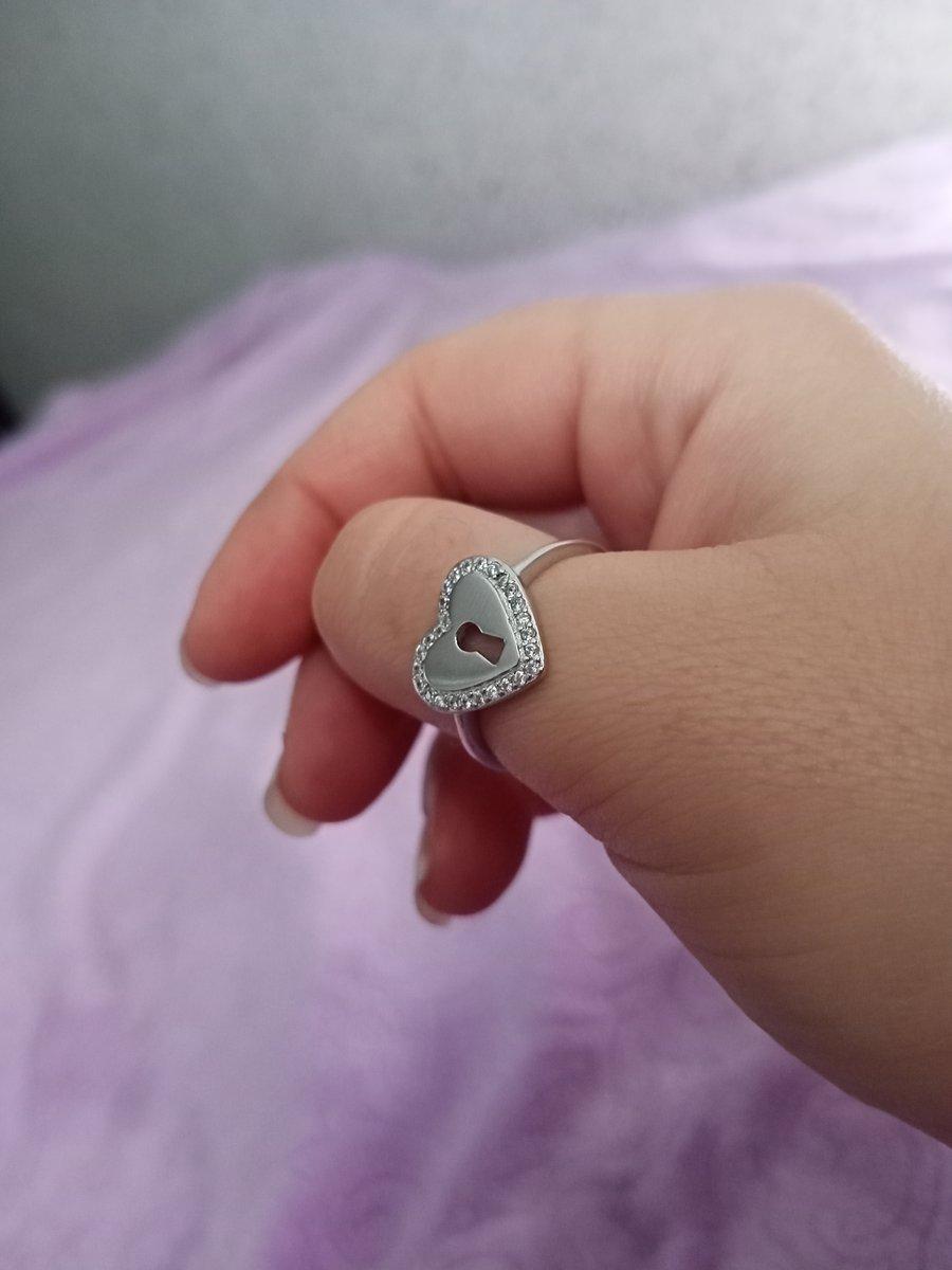 Сереряное кольцо