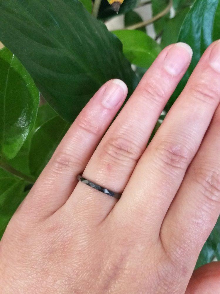 Кольцо из керамики!